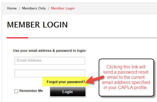 Forgot Password-current email address